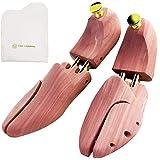 [アールアンドケイズカンパニー] シューツリー シューキーパー 木製 アロマティック レッドシダー 靴磨きクロス付 ハイシャイン用 26.0~27.0 cm