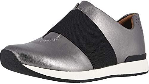 Vionic Women's Cosmic Codie Metallic Slip-On Sneaker - Ladies Casual Walking Shoes with Concealed Orthotic Arch Support