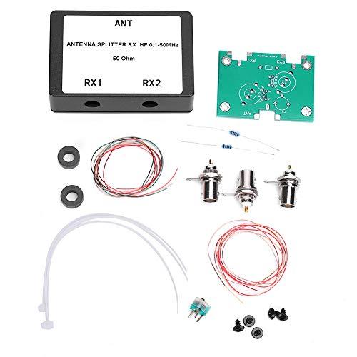 1-50 MHz RX HF Rauscharmer Antennenverstärker-Splitter 50 Ohm Kabelsignal-Splitter 3.2dB Verlustarmer BNC-Anschluss