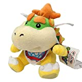 Altay Best Super Mario Yellow Bowser King Koopa Jumbo Size Stuffed Plush Toy with Travel Bag