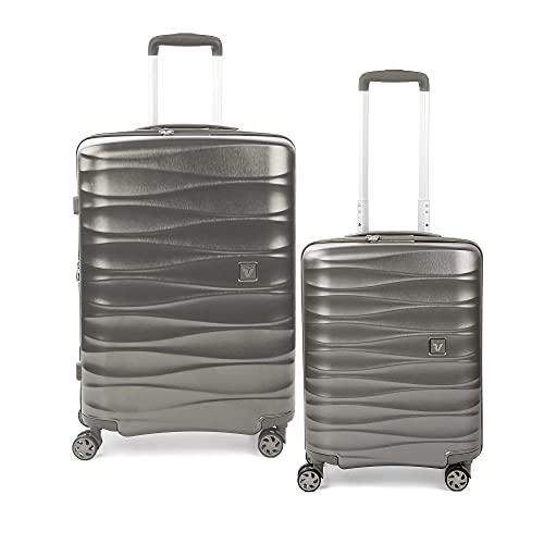 RONCATO Stellar set 2 maletas rígidas 4 ruedas tsa (medio + cabina) Arena