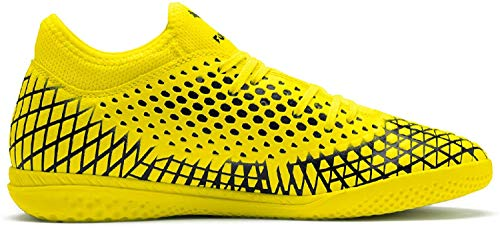 Puma Herren Future 4.4 IT Futsalschuhe, Gelb (Yellow Alert-Puma Black), 44.5 EU