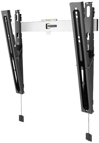 TV-Wandhalterung von One For All NEIGBAR (15°)- TV-Bildschirmgröße 32-55 Zoll - Für alle TV-Gerätetypen – Max. Gewicht 50kg -Schwarz Weiß - SV6420