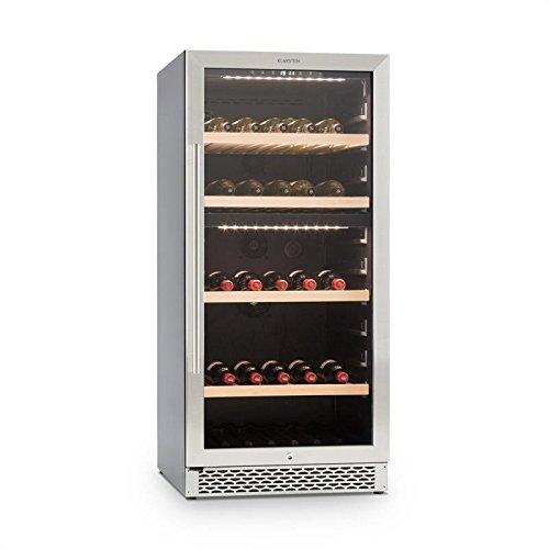 Klarstein Botella 300S - Nevera para vinos, Nevera para bebidas,...