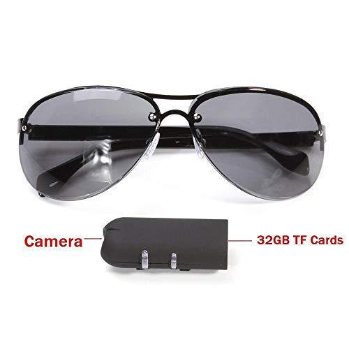 DYHM minikamera Mini kamera sonnenbrille brille cam outdoor action sport video objektiv sicherheit fahrrad fraktion helm fahrrad