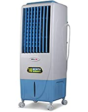 iBELL ELITE Air Cooler 15-Litre 3 Speed Inverter Compatible, Low Power Consumption, Cools with Water - White, Light Blue