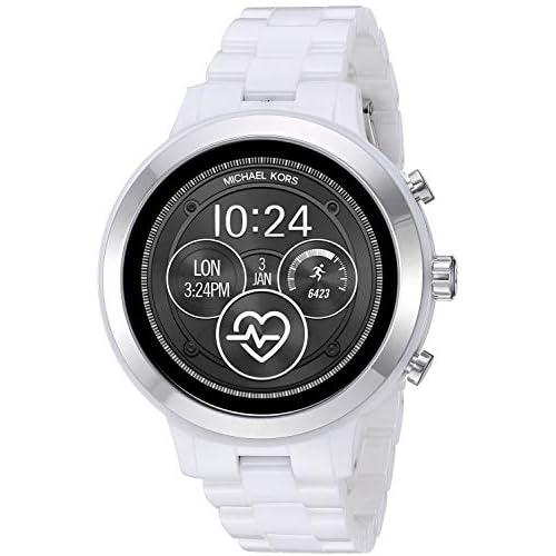 Michael Kors Smartwatch Donna con Cinturino in Ceramica MKT5050