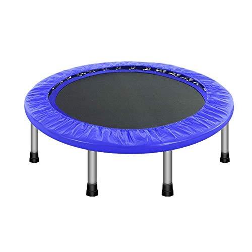 Fitness Trampolines Trampoline - 48-inch inklapbare trampoline voor thuis Volwassen Indoor Vrije tijd Trampoline voor kinderen stuiteren Trampoline lagergewicht 200kg