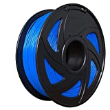 3D Flexible Blue TPU Filament 1.75 mm, 2.2 LBS (1KG) Material: TPU,Hardness 95A