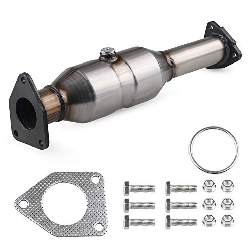 WATERWICH Compatible with Catalytic Converter Honda Accord 2.4L 2003 2004 2005 2006 2007 Direct-Fit Stainless Steel High Flow(EPA Compliant)