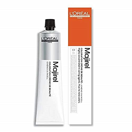 L'Oreal Majirel 7.43 , Color Rubio Cobrizo Dorado, 50 ml