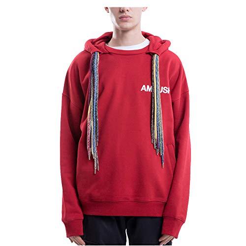KRILY Heren Truien Herfst En Winter Oefening Hooded Unicex Jas Zachte Dikke Warm Wild Hoodie Trekkoord Hooded