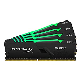 HyperX Kingston 128GB 3600MHz DDR4 CL18 DIMM (Kit of 4) Fury RGB (HX436C18FB3AK4/128), 128GB kit (4 x 32GB) (B08CXYV4SB)   Amazon price tracker / tracking, Amazon price history charts, Amazon price watches, Amazon price drop alerts