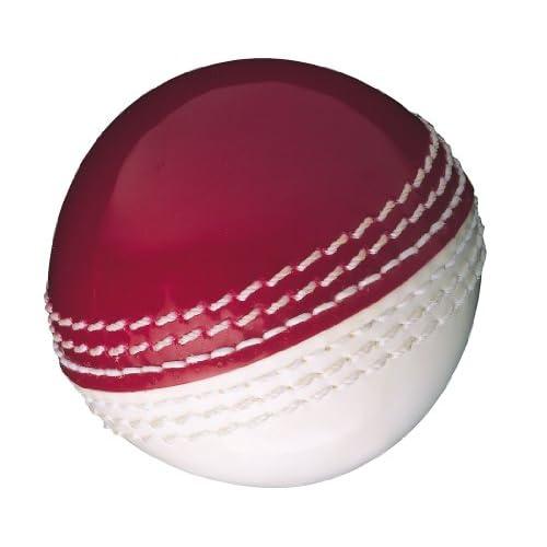 Gunn & Moore Skills, Palla da Cricket, Rosso/Bianco, junior