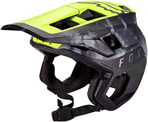 FOX Dropframe Pro ELV Helm Herren Day Glow Yellow Kopfumfang S | 52-54cm 2020 Fahrradhelm