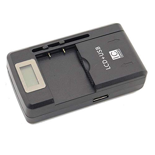Apirit LCD Battery Charger for LG G3 Tribute Transpyre LS660 VS880 VS810PP F60 BL-41A1H; LG LGIP-411A CG180 LX160 Flare KG375 KG160 KG270 KG275; Nokia BV-4D BV4D 808 PUREVIEW LANKKU N9 16G 64G
