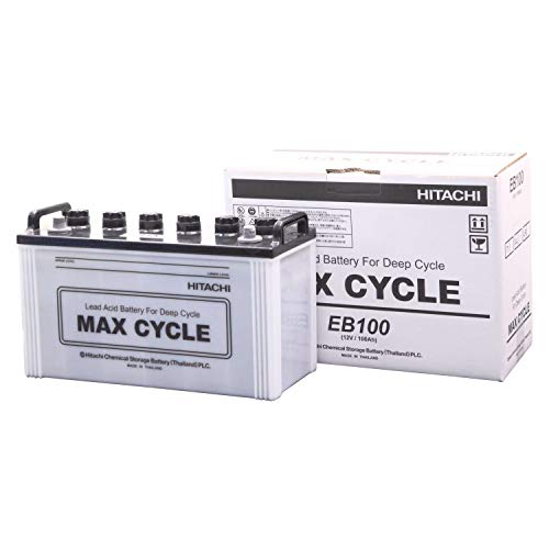 HITACHI [ 日立化成 ] EBバッテリー MAX CYCLE サイクルサービス用(電動カート他) [ EB-100-T ]
