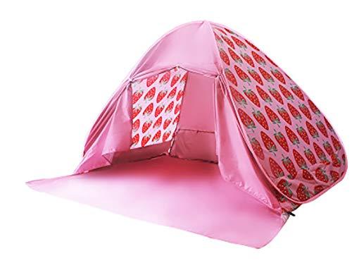 Carpa de Ducha al Aire Libre Tienda de Playa Playa al Aire Libre Sombrilla de Sol e Impermeable Apertura automática de la Velocidad 3-4 Personas Pesca portátil Camping campaña de Picnic (Color : B)