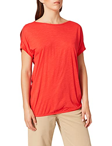 Cecil Damen 316344 T-Shirt, Poppy red, L