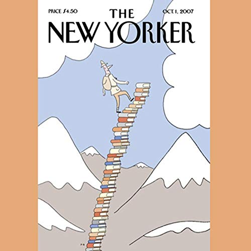The New Yorker (October 1, 2007) audiobook cover art