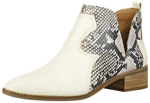 Lucky Brand Women's LEYMON Ankle Boot, Milk, 7