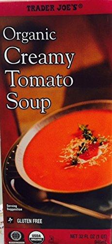 Trader Joe's Organic Creamy Tomato Soup - Gluten Free