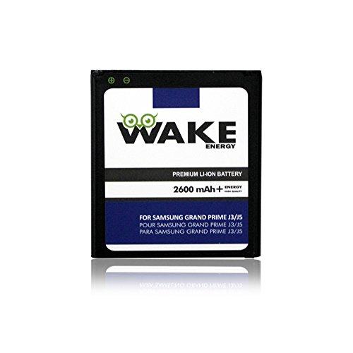 Grand Prime Battery, WAKE 2600 mAh Replacement Battery for Samsung Grand Prime / J2 Prime / J3 PRO / J3 2016 / J3 / J5 (SM-G950) (EB-G950ABA/EB-BG950ABE) WAKE Brand