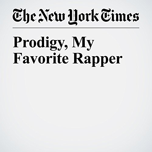 Prodigy, My Favorite Rapper audiobook cover art