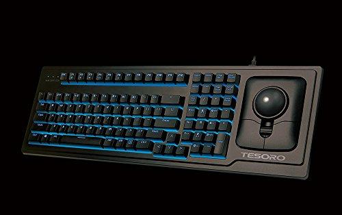 Tesoro G6TL Ergonomic Backlit Mechanical Keyboard with Optical...