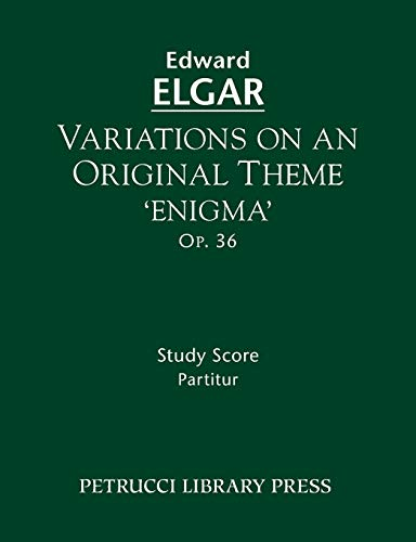 Variations on an Original Theme 'enigma', Op.36: Study Score