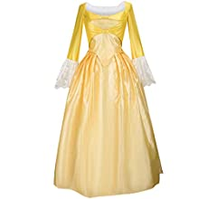 Gift Music Show Hamilton Elizabeth Schuyler Angelica Peggy Dance Cosplay Costume Dancing Dress