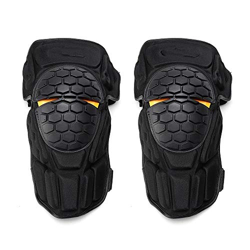 LiangDa Knieschoner Motocross Sommer-Breathable Protective Gears Outdoor Sports Motorrad Knieschützer (Color : Black, Size : One Size)