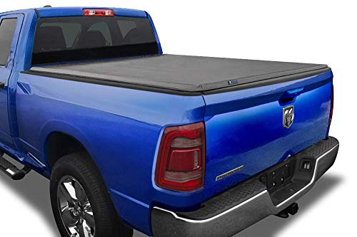 Tyger Auto T3 Soft Tri-Fold Truck Bed Tonneau Cover for 2019-2020 Ram 1500 New Body Style | 5'7' Bed | Not for Classic | Does Not Fit with Multi-Function (Split) Tailgate or RamBox | TG-BC3D1044,Black