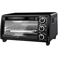 Black+Decker TO1313B 4 Slice Toaster Oven