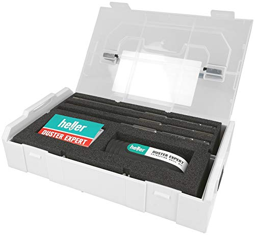 Heller Tools 1818 3-tlg. Set Duster Expert, Schwarz-Grau