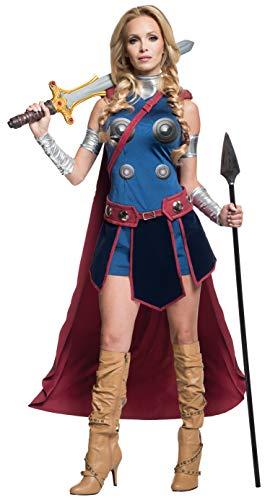 Secret Wishes Women's Marvel Universe Valkryie Costume - Multi - Mediu