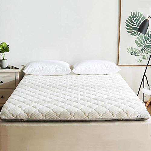 BH Hypoallergenic breathable mattress covers, reversible thickenable padding, soft mattress covers for all seasons A hotel 180x200 cm (71x79 inches)