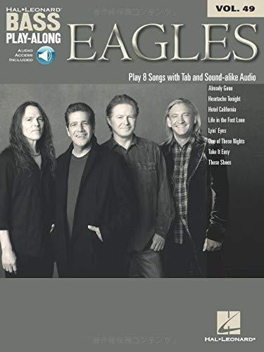 Bass Play-Along Volume 49: Eagles Tab CD