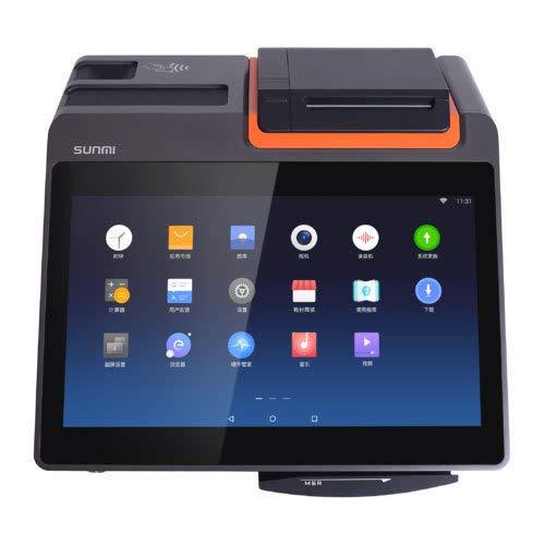 Sunmi T2 Mini AiO - Caja registradora (sistema operativo Android, RKSV y GDPdU)