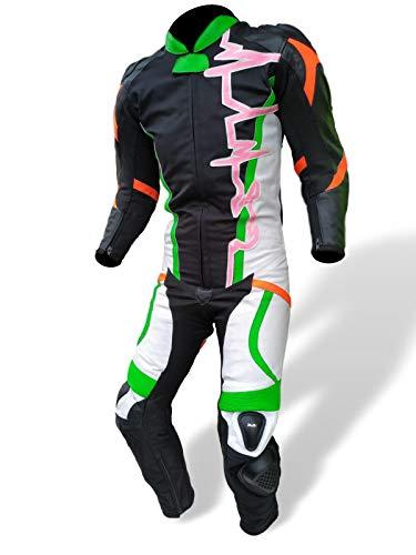 MdM Race - Mono de moto para niño de piel cordura Pit Bike GrE Leather Kids Suit niño (XXS)
