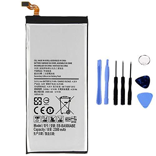 Ellenne Batteria Compatibile con Samsung A5 2015 A500 EB-BA500ABE AD Alta capacità 2300MAH con Kit SMONTAGGIO Incluso