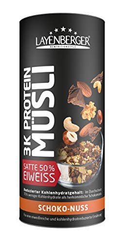Layenberger 3K Protein Müsli Schoko-Nuss, 390 g