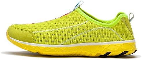 KENSBUY Women's Quick Drying Aqua Water Shoes Mesh Slip on Sneaker
