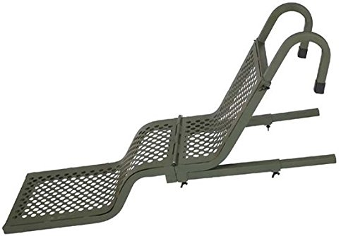 Beavertail Aluminum Folding Dog Ladder, Olive Drab Green