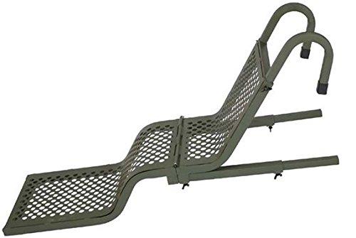 Beavertail Aluminum Folding Dog Ladder, Olive Drab Green