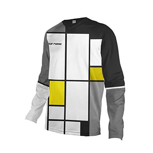 Uglyfrog Racewear Manga Larga MTB Downhill Jersey Winter Fleece Warm DH/Am/XC/FR/MTB/BMX/Moto Enduro Offroad Ropa Bicicleta de Montaña ES19HSJFZR12