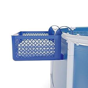 Carrie Box Cesta de Almacenamiento, Accesorios de Piscina, Piscina Desmontable, Portavasos de Piscina