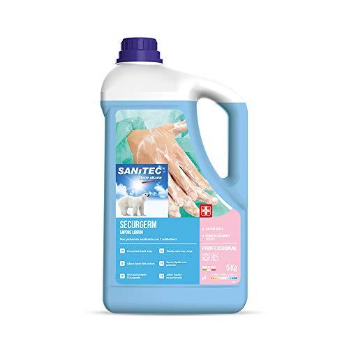 Sanitec - Jabón líquido antibacteriano Securgem, 5 kg