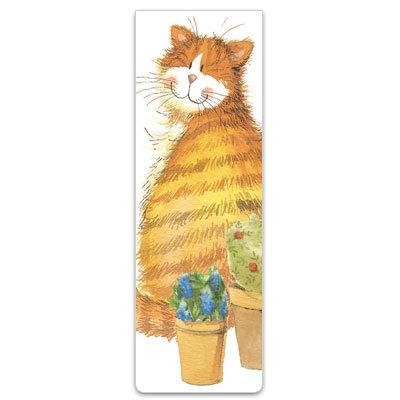 Alex Clark - Segnalibro magnetico con gatto e vasetti
