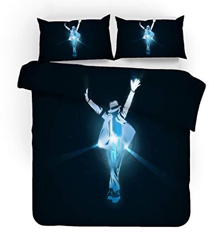 REALIN Bettbezug Michael Jackson Set...